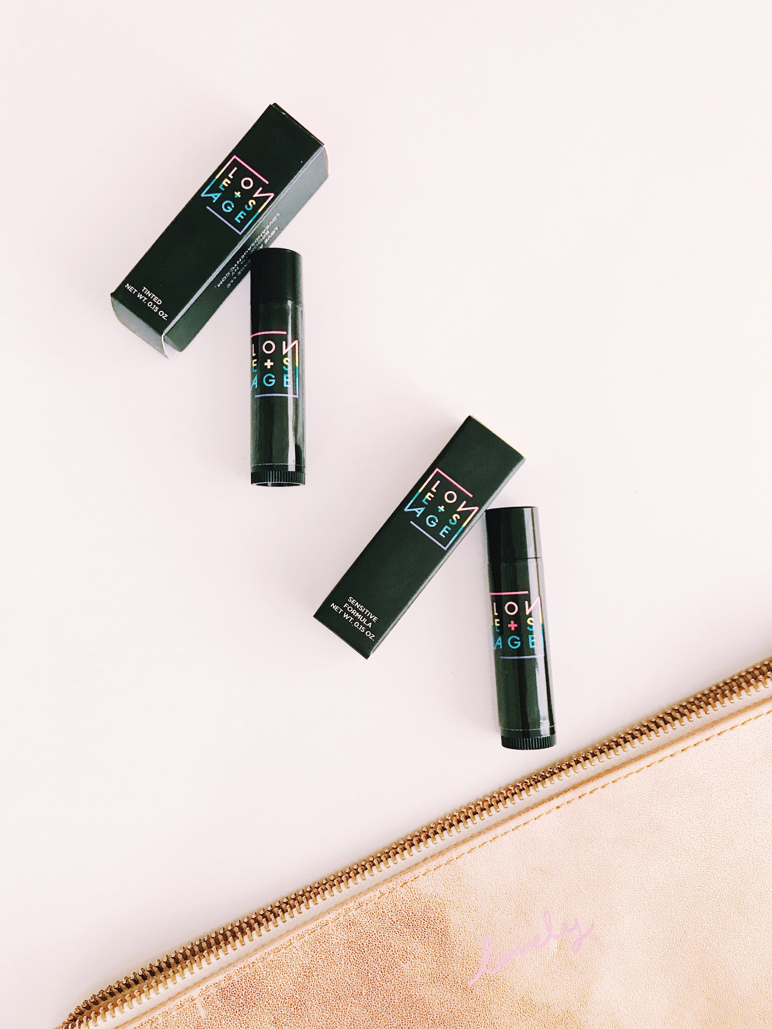 Moisturize  - I only use natural lip balms because most of the cheap ones have petroleum jelly and really just dry out your lips in the long run. I've been obsessed with these Love + Sage lip balms for summer because they smell delicious, use natural moisturizers like avocado oil, shea butter, coconut oil, etc. and they have a touch of SPF! My favorite one so far: Well Red (I'm a sucker for puns and sheer lip color)!