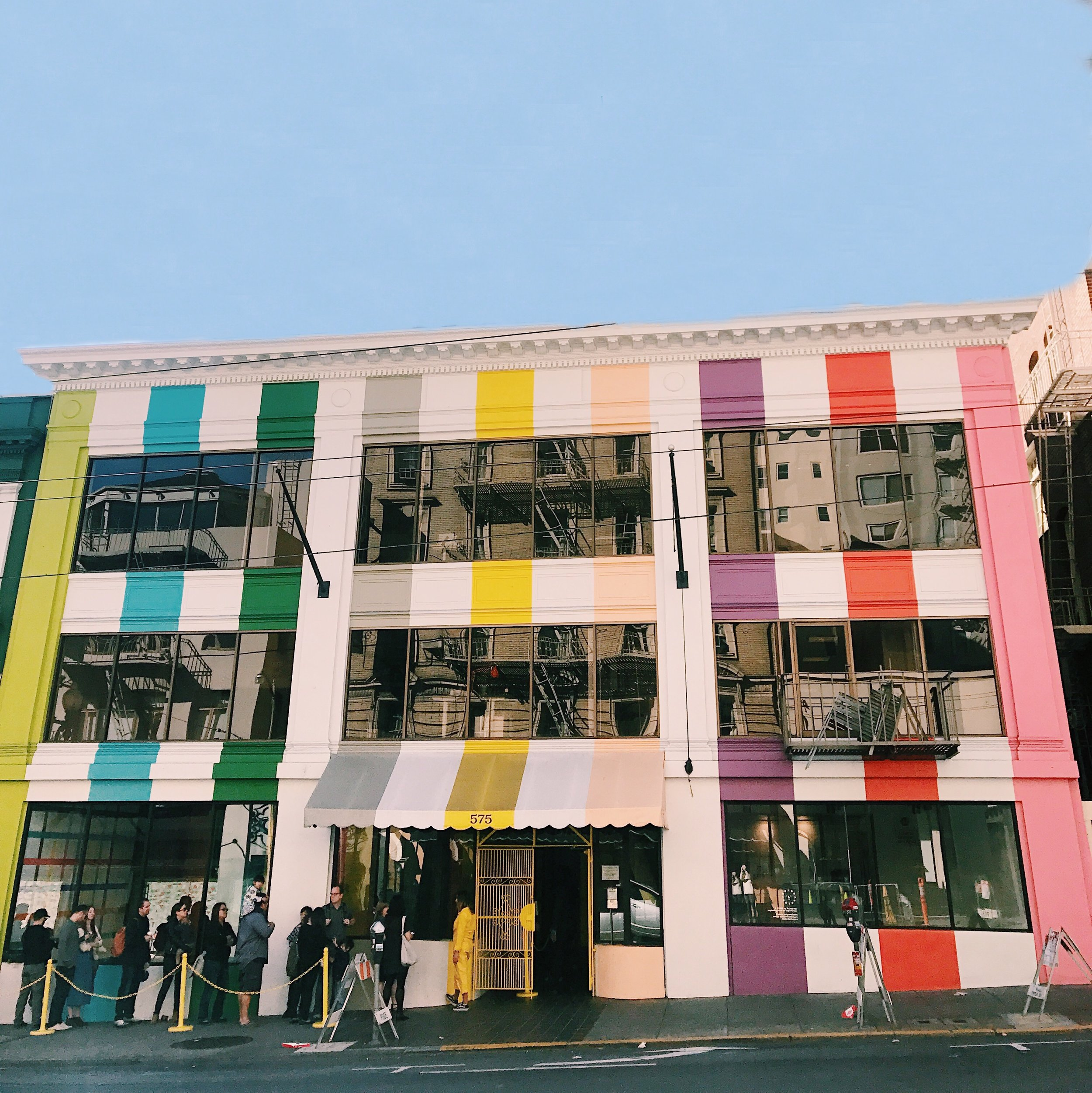 color factory hq building sutter st