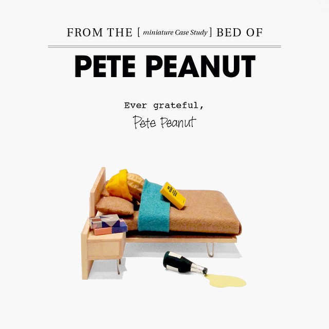 You did it! Thanks for helping a small peanut like me dream big. #sleepy #goodnight