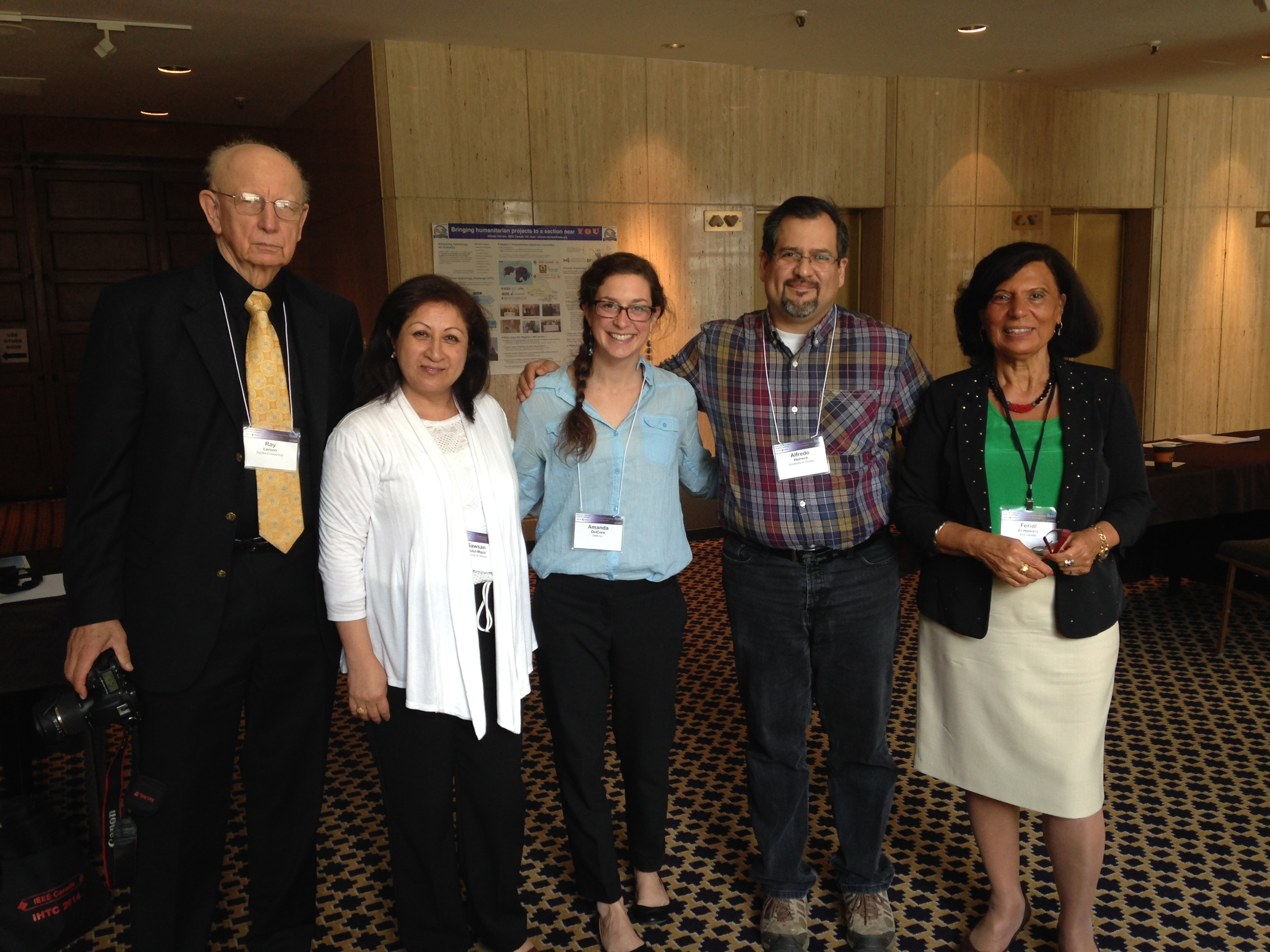 IEEE Humanitarian Technology Conference 2014, Montreal, Canada