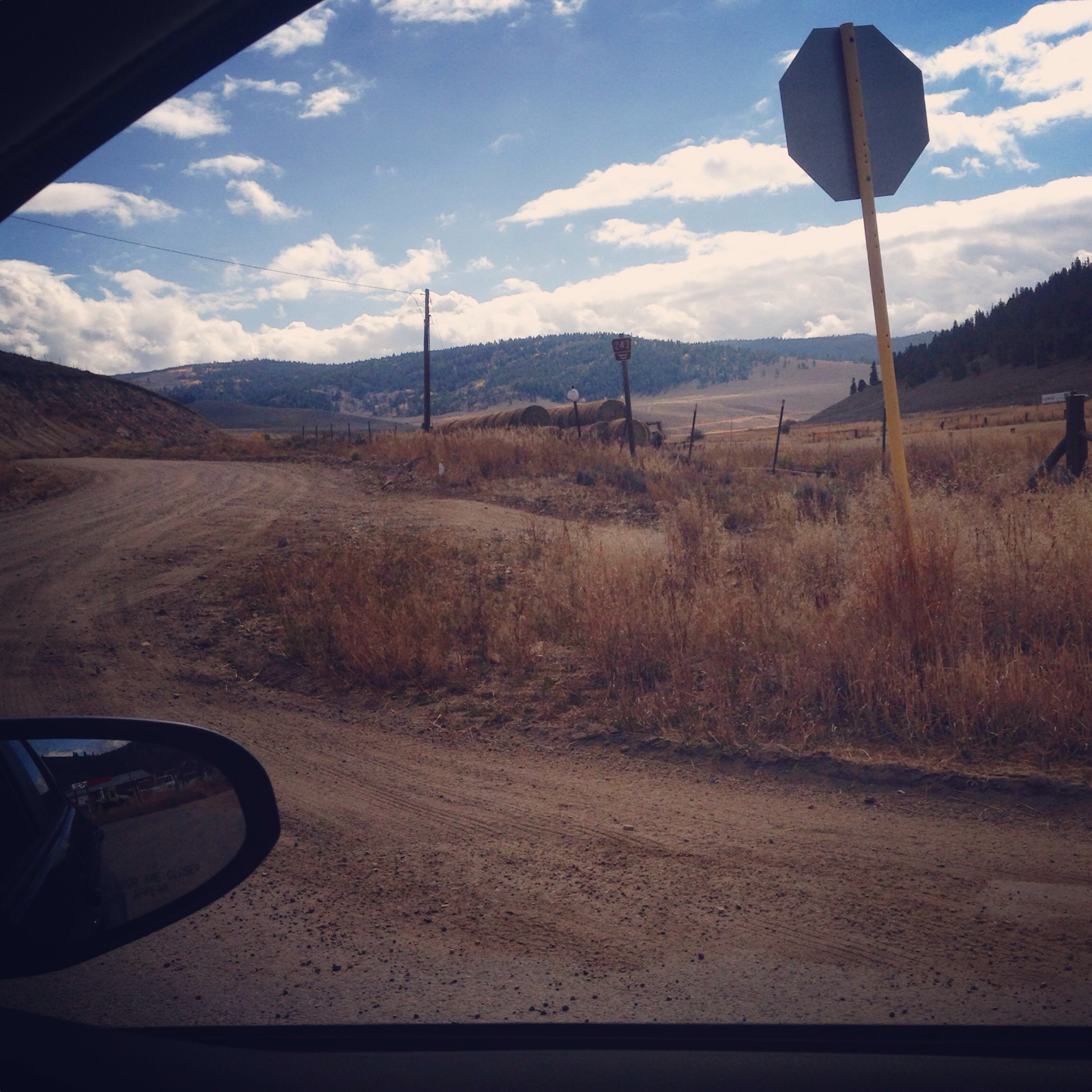 Staring up at the dirt road that led to Marshall Pass from a car window, knowing that biking over 1,800 miles to get there made me appreciate it in a way that a motorist never could.