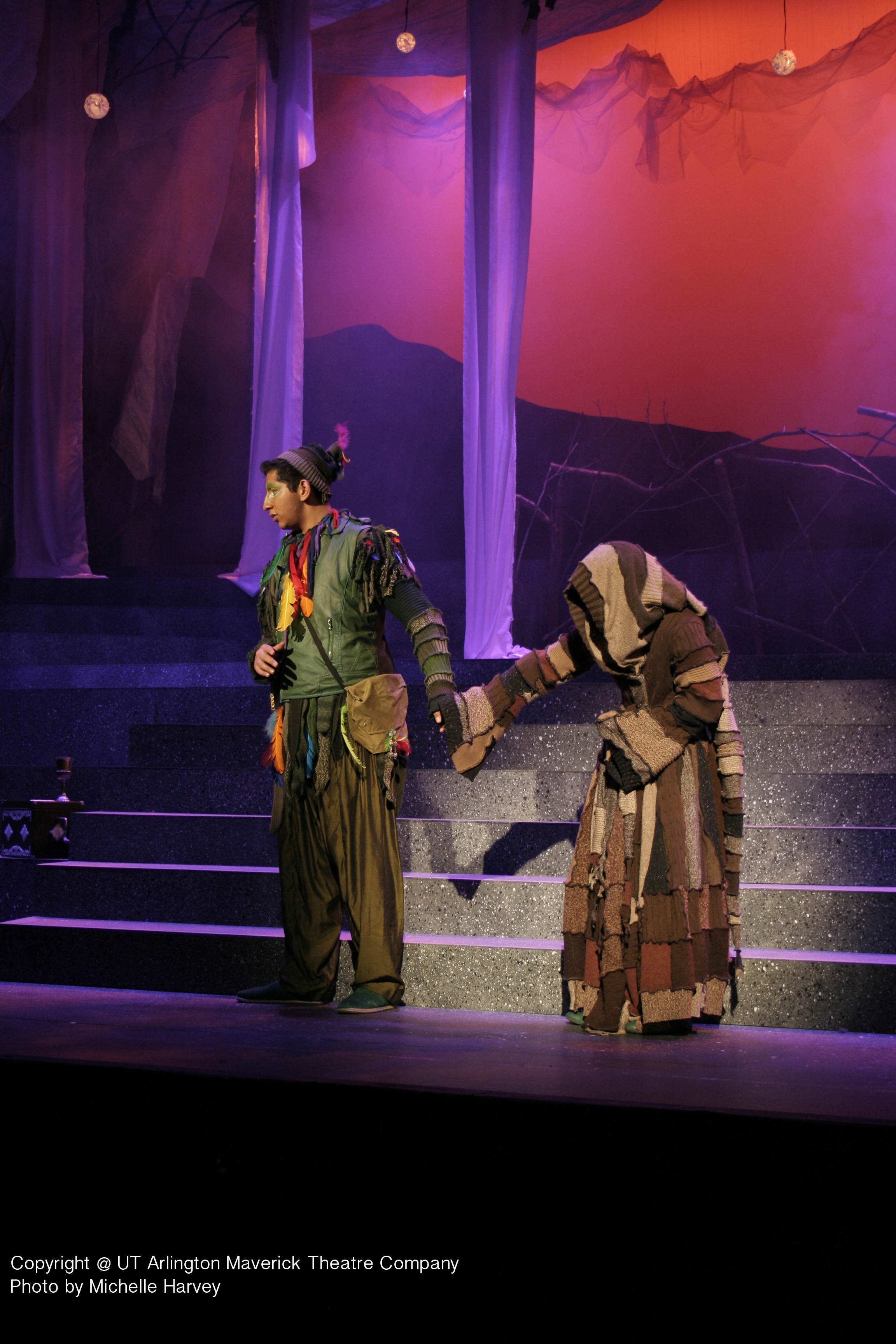 Papagena's Coat-  The Magic Flute- University of Texas Arlington 2014  Costume Design by Laurie Land