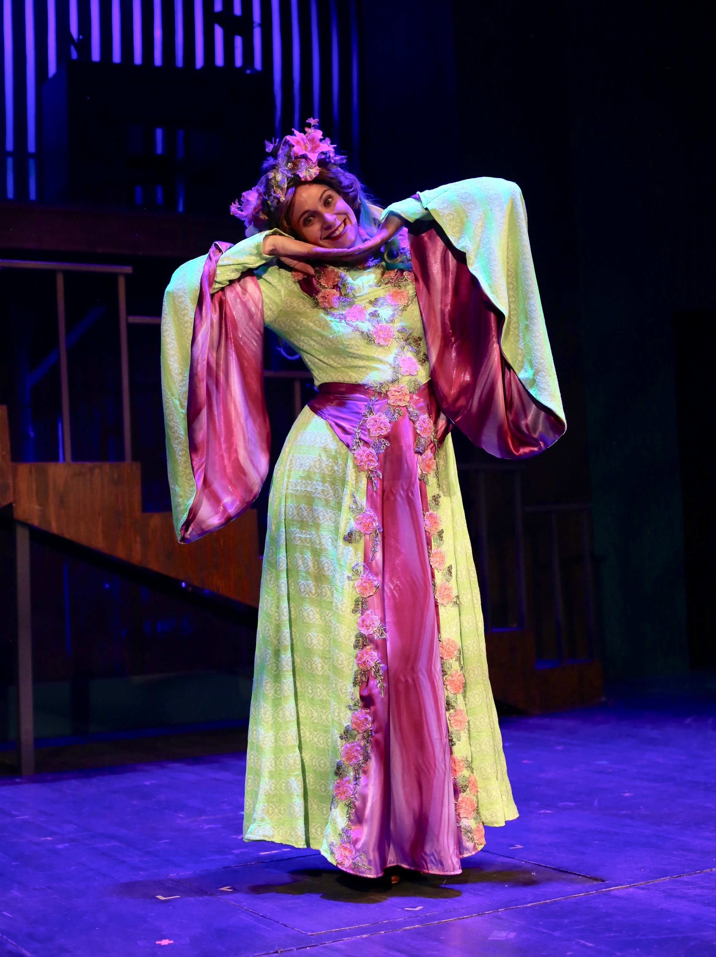 Potion Notion Dress  9 to 5- Creede Repertory Theatre 2018  Costume Design by Tatyana De Pavloff. Photo Courtesy of John Gary Brown.