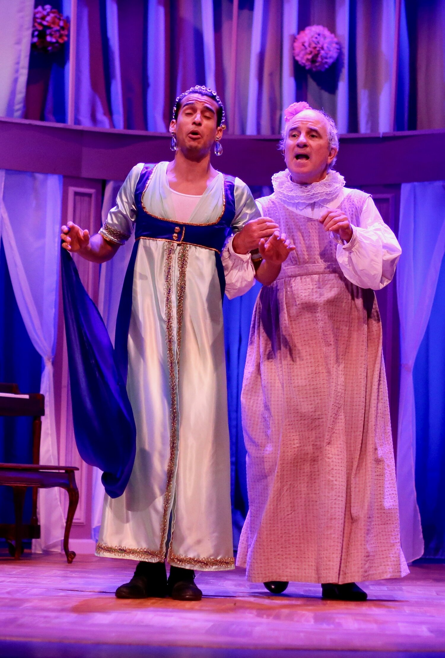Caroline Bingley's Diadem- Pride and Prejudice- Creede Repertory Theatre 2019  Costume Design by Amy Sutton. All designs by the seasonal staff of CRT. Photos courtesy of Jhon Gary Brown.
