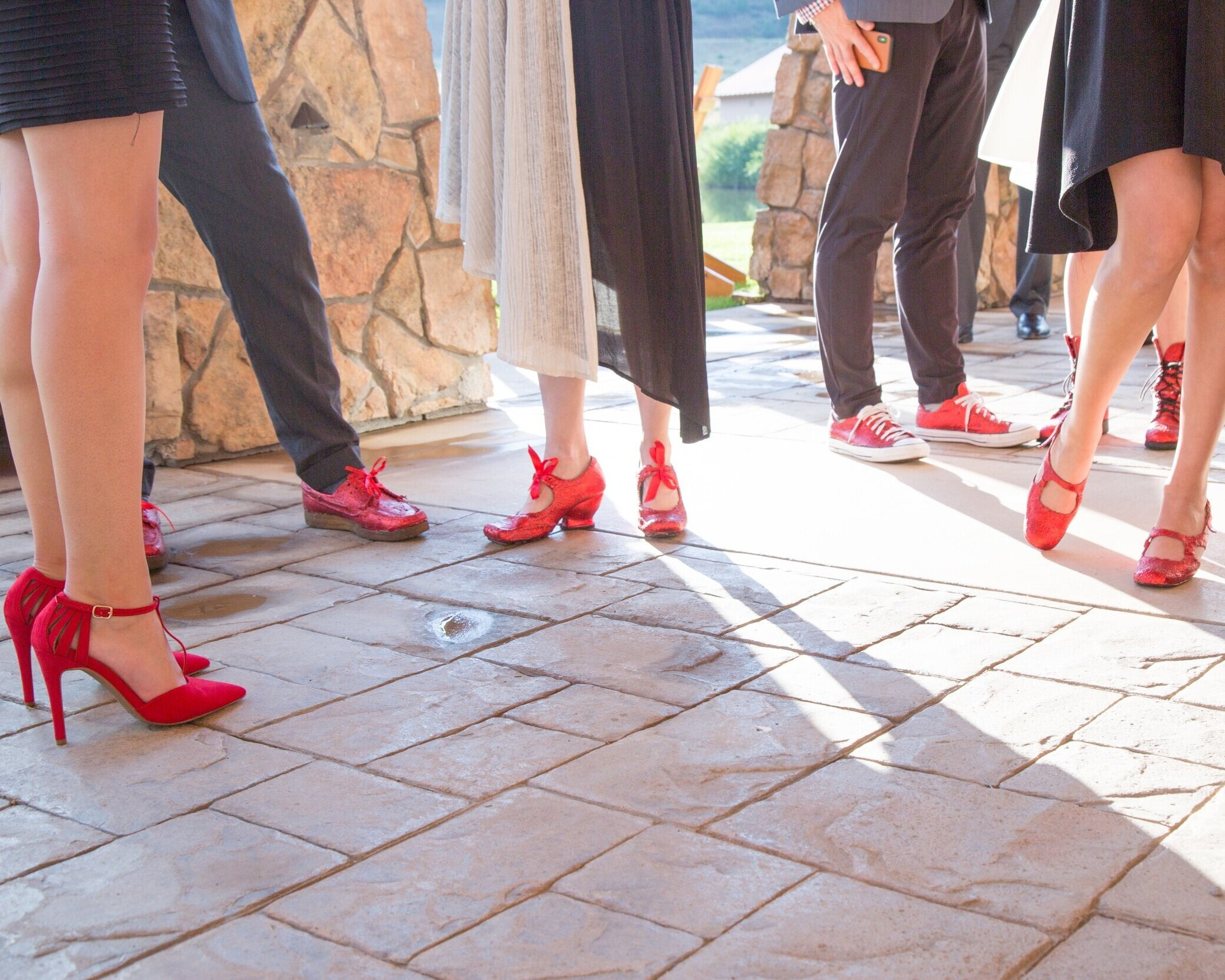 Gala Shoes-Creede Repertory Theatre 2018   Photo courtesy of Alison Letsos.
