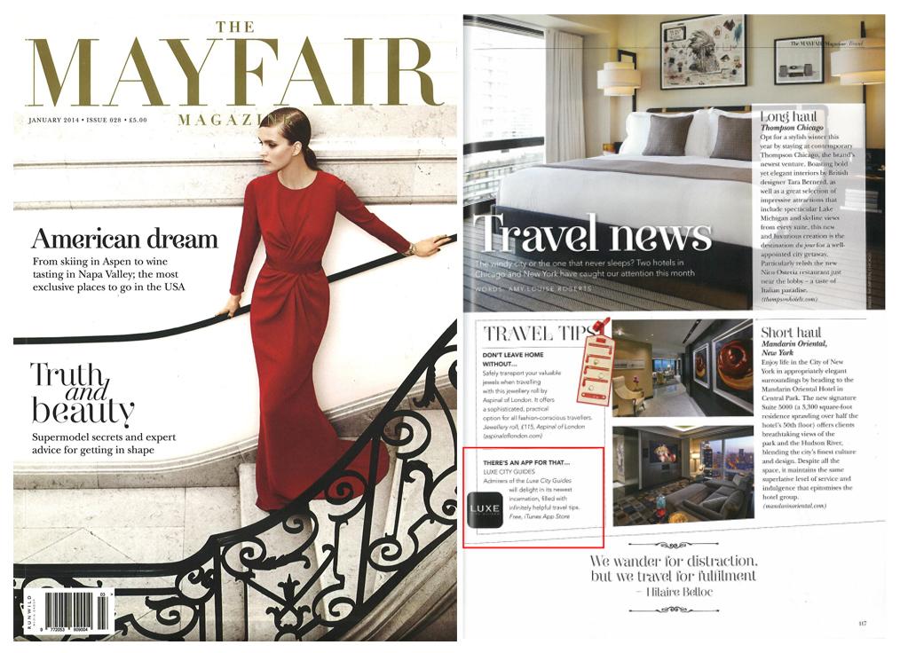 The Mayfair Magazine - January, 2014