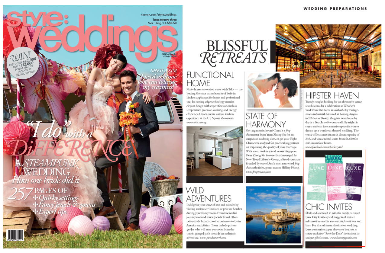 Style Weddings - March/May, 2014