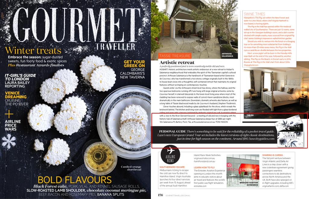 Gourmet Traveller - August, 2013