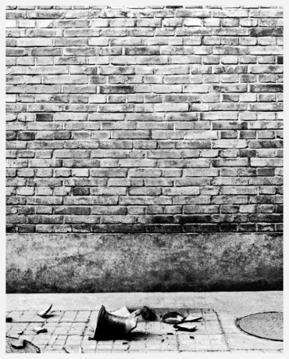 This poster was originally made to support Ai Weiwei when Weiwei was detained in 2011.   At that time he was just about to go to London for his art education at Central Saint Martins. He showed Weiwei the poster after the detainment. Weiwei liked it and Wu got an internship opportunity at Weiwei's studio. After graduate, he came back to China to work at Ai Weiwei Studio as an assistant for a year. He also used the poster to support Weiwei when Weiwei was erased from Shows in Shanghai and UCCA.