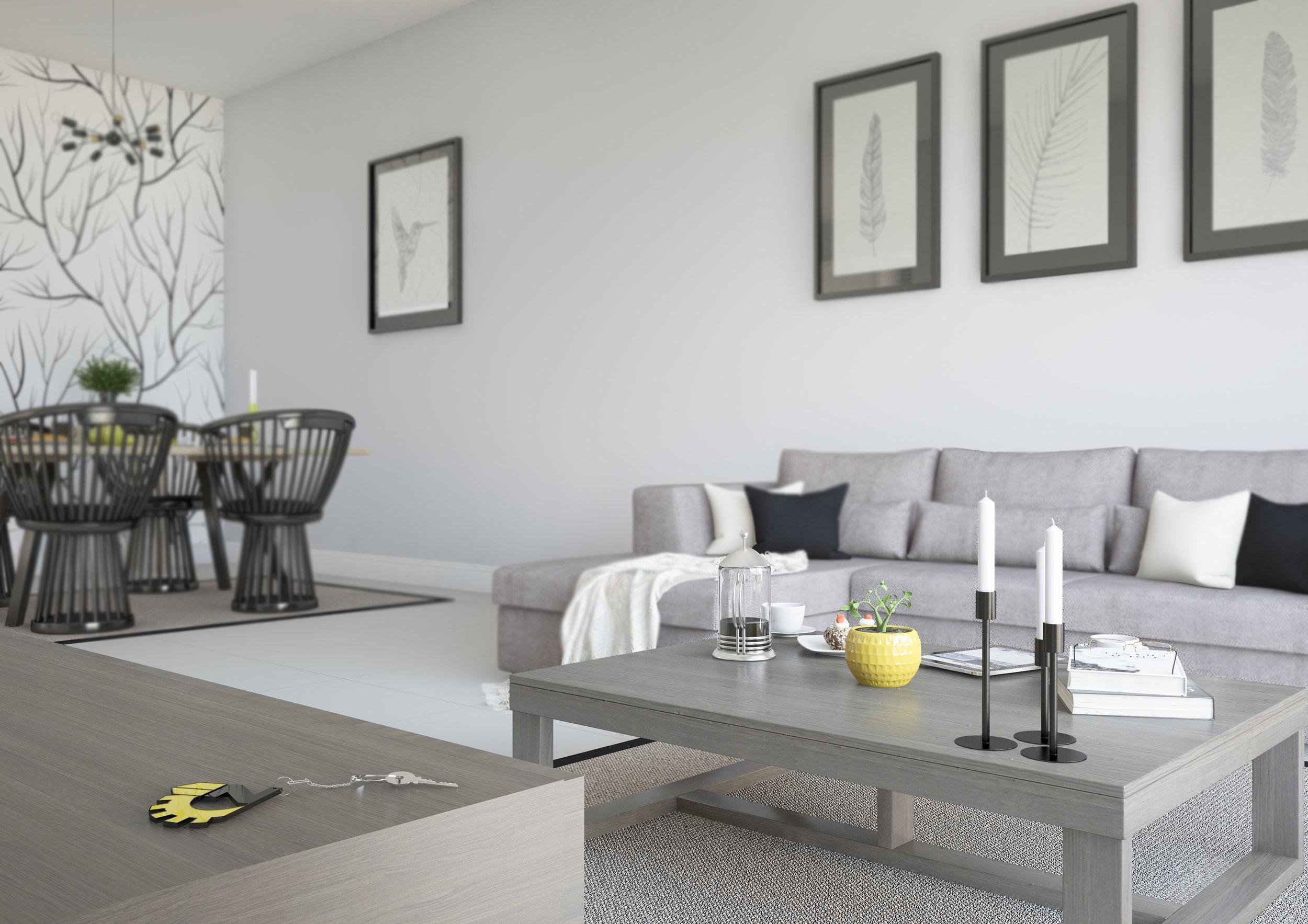 Konia Villa Render - D.Zavos Group - Cyprus