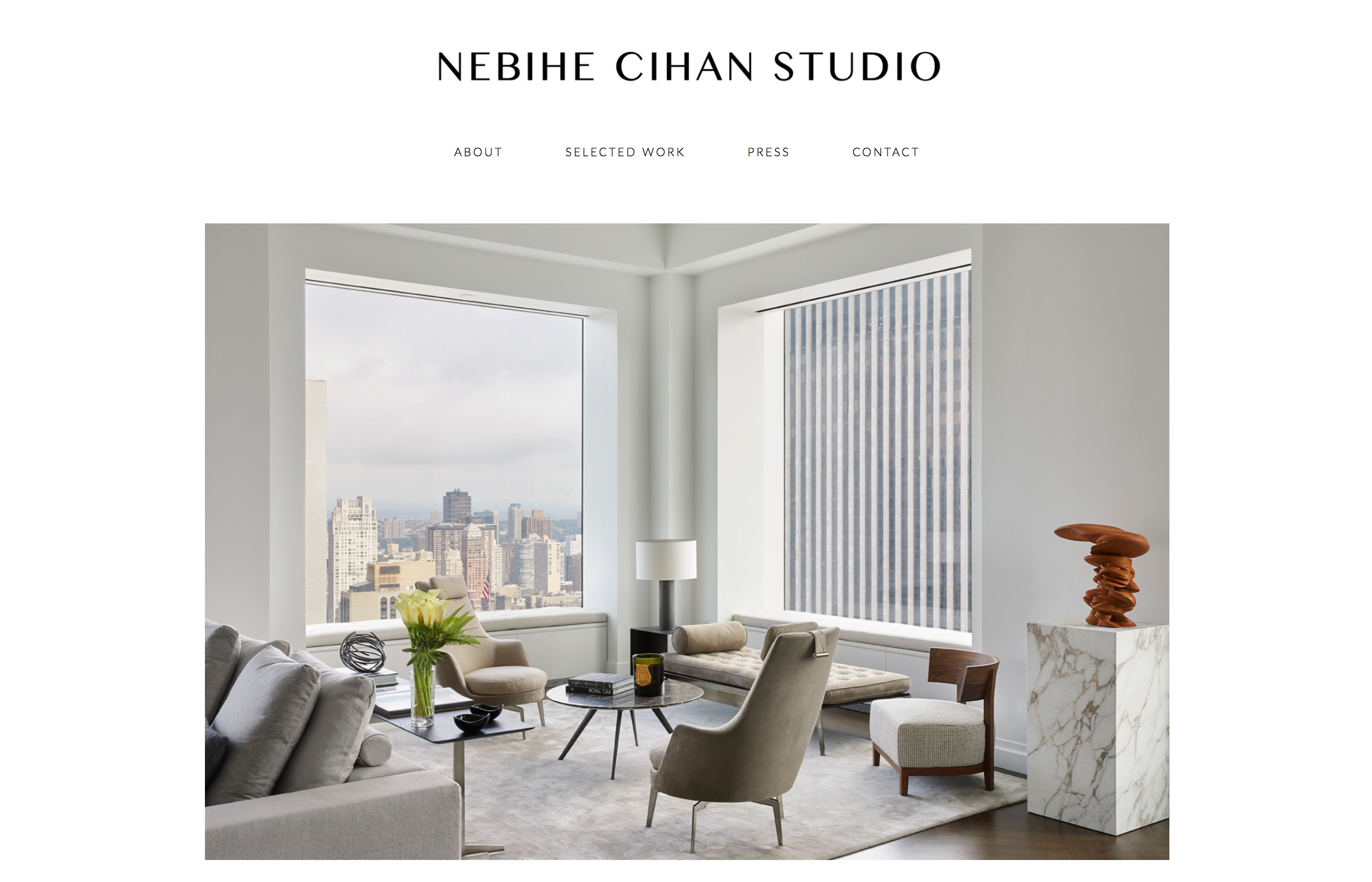 NEBIHE CIHAN STUDIO [INTERIOR DESIGN]