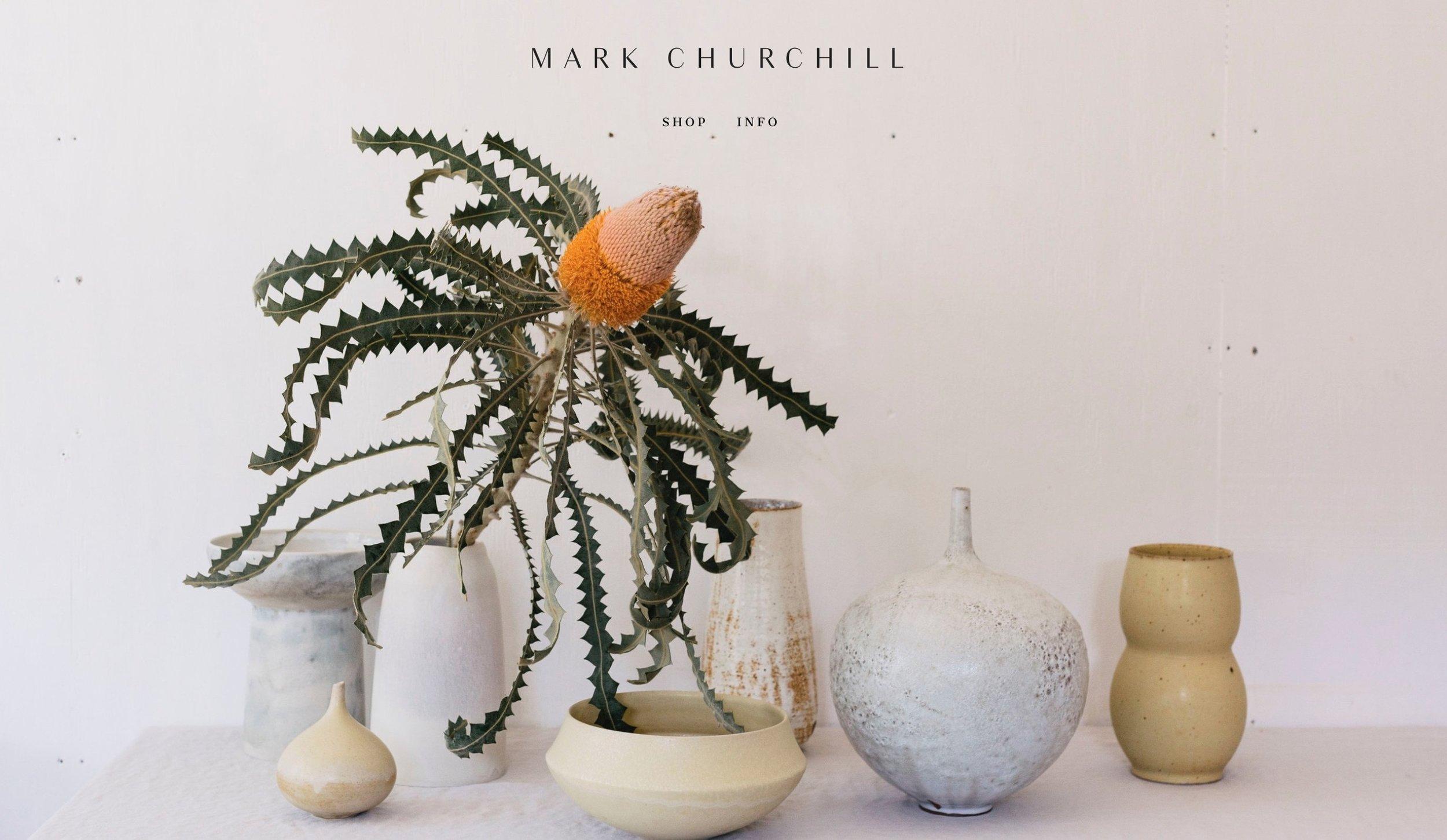 mark churchill [ceramics]