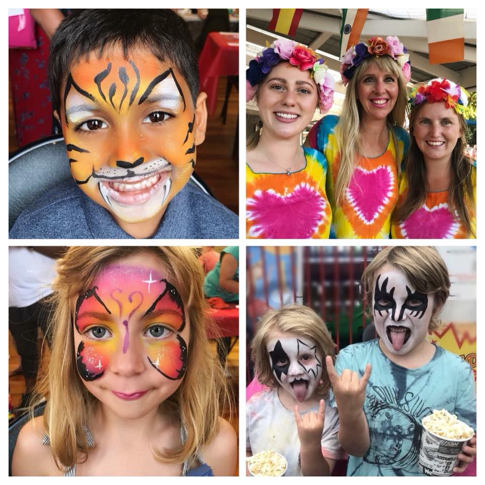 Face Painting - Face Painting: $90 per hour (minimum of 1.5hrs - approx 15-18 face paints)We only use the BEST quality paints!Our face painters all hold working with children checks and public liability