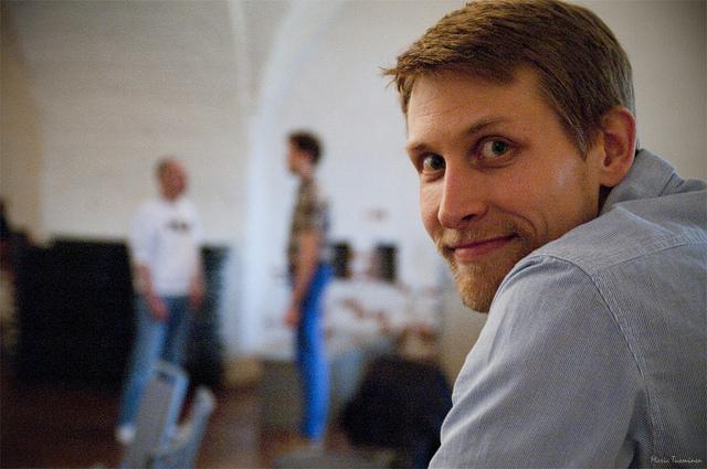 Ilkka Koppelomäki, Uskalla Innostua -tiimin perustaja.