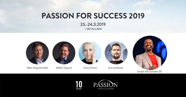 Yhdistymisen voima näkyy hyvin Passion for Success -seminaarissa.