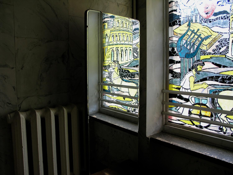 In a sanatorium near Odessa.
