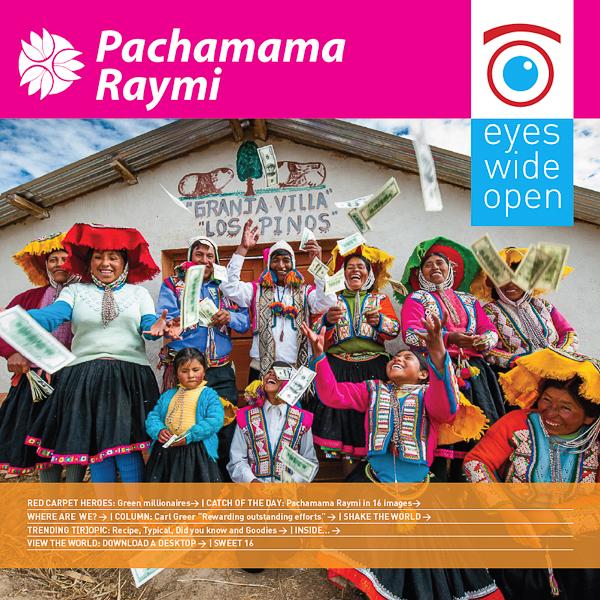 Special edition Pachamama Raymi - English