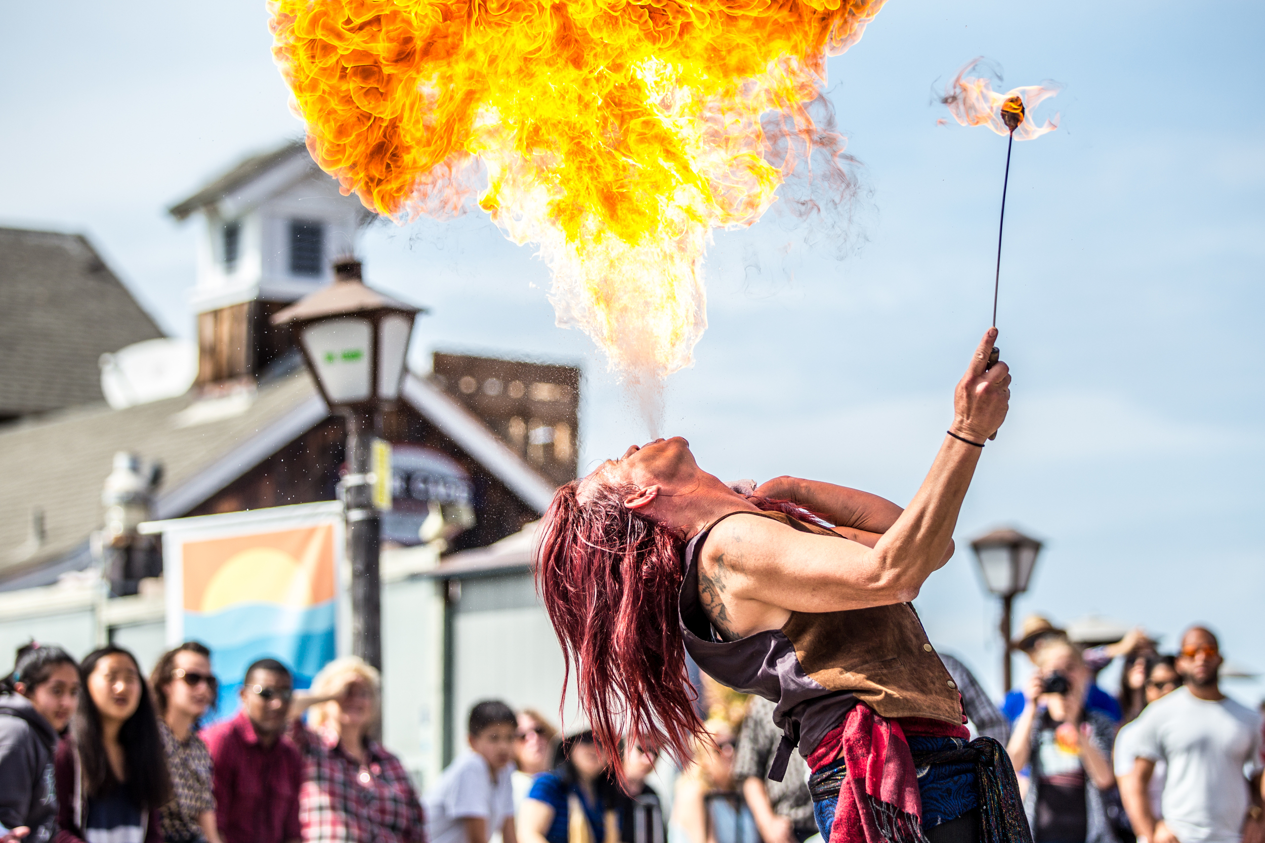 Buskers Festival Seaport Village - Murrugun the Mystic