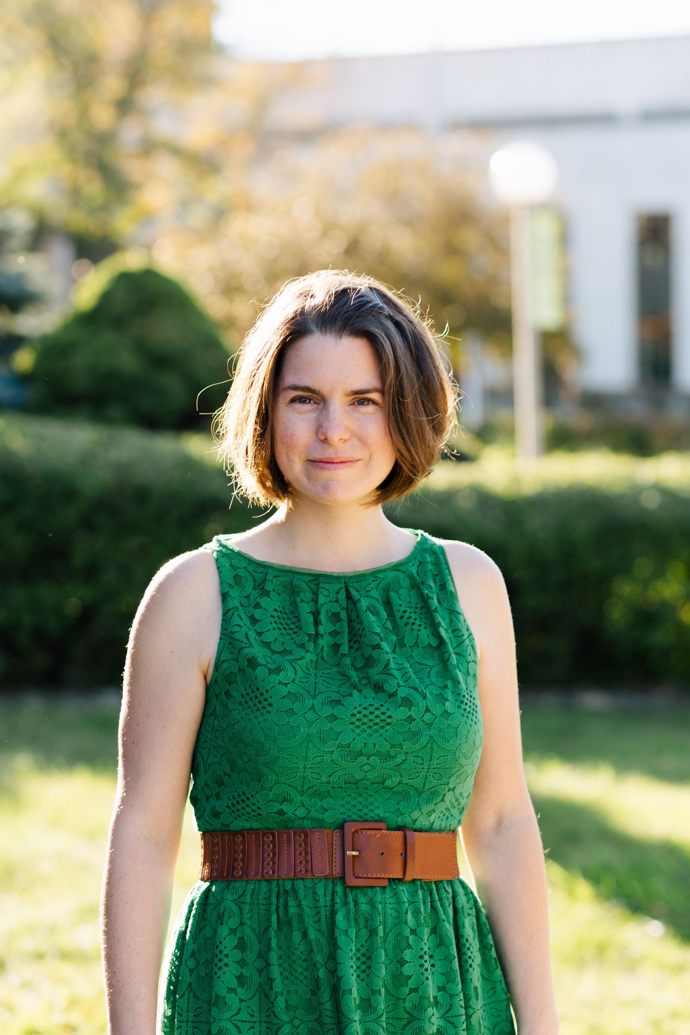 Author Anna Clark