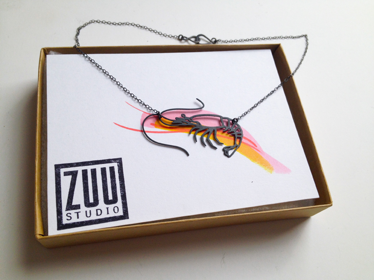 NEW! Shrimp necklace!