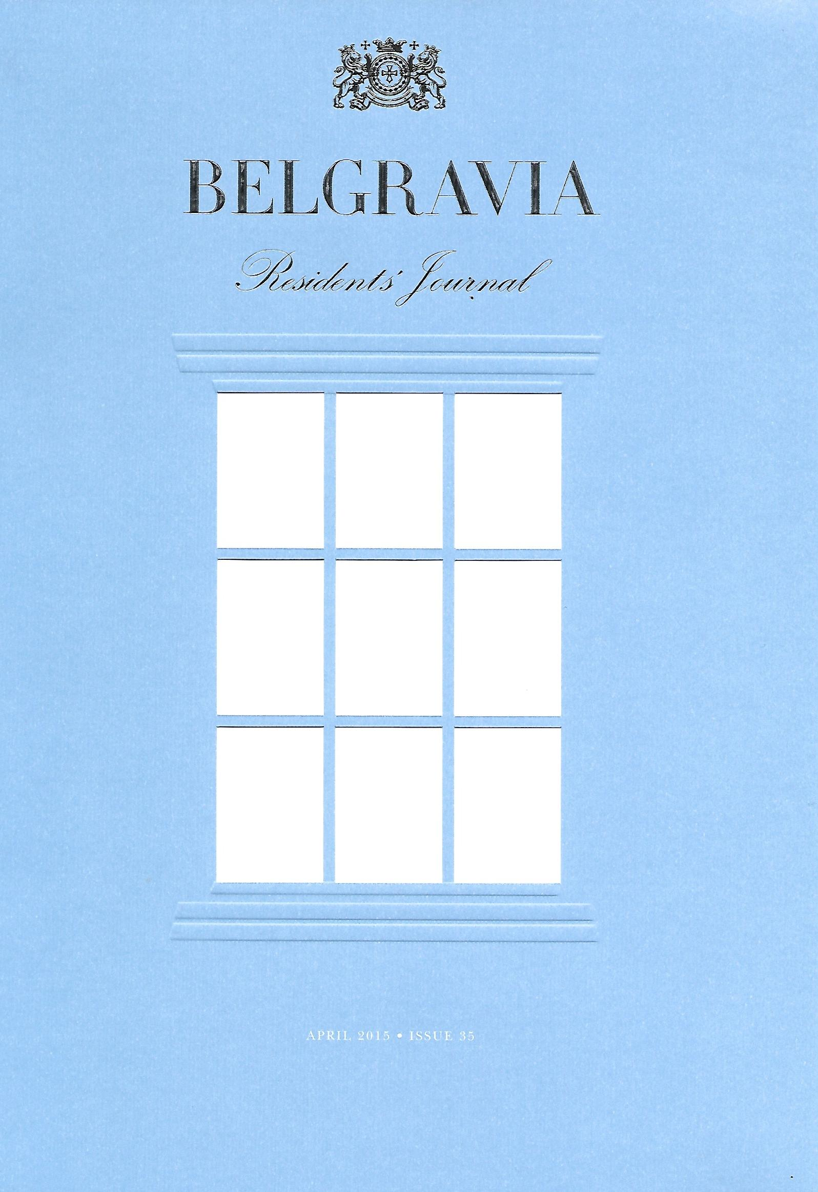 BELGRAVIA RESIDENTS JOURNAL