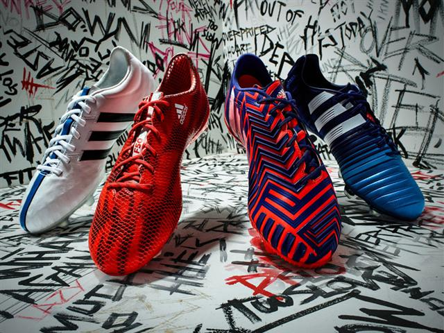 """""""There Will Be Haters"""" features new and improved styles of the 11Pro, F50 Adizero, Predator Instinct, and Nitrocharge 1.0."""