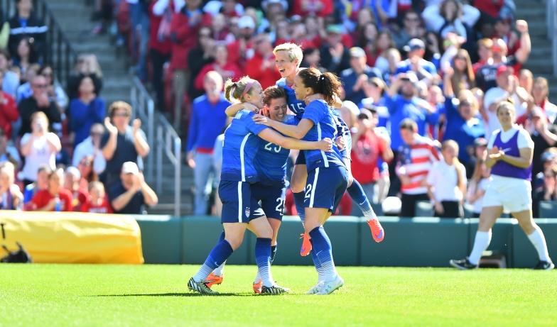 U.S. Women's National Team Beats New Zealand