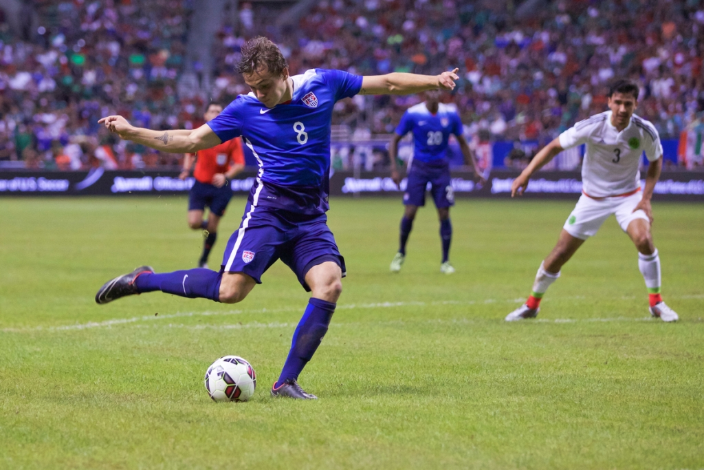 Jordan Morris Scores Against Mexico