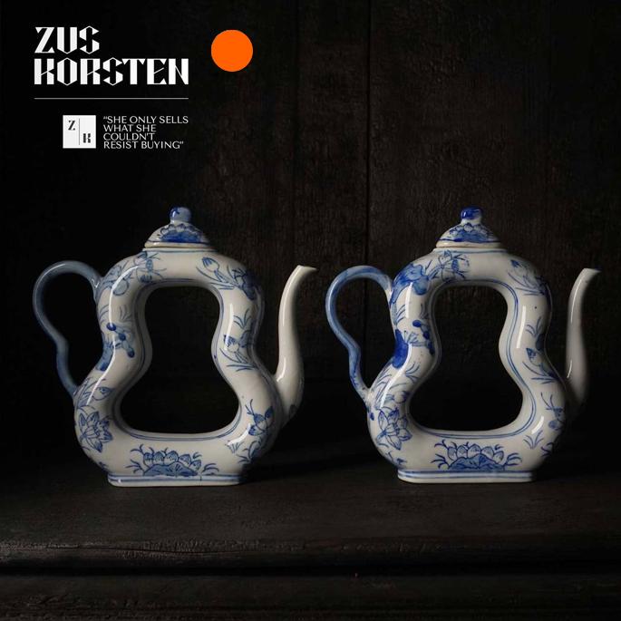 Set of Japanese Dai Nippon Tea Pots