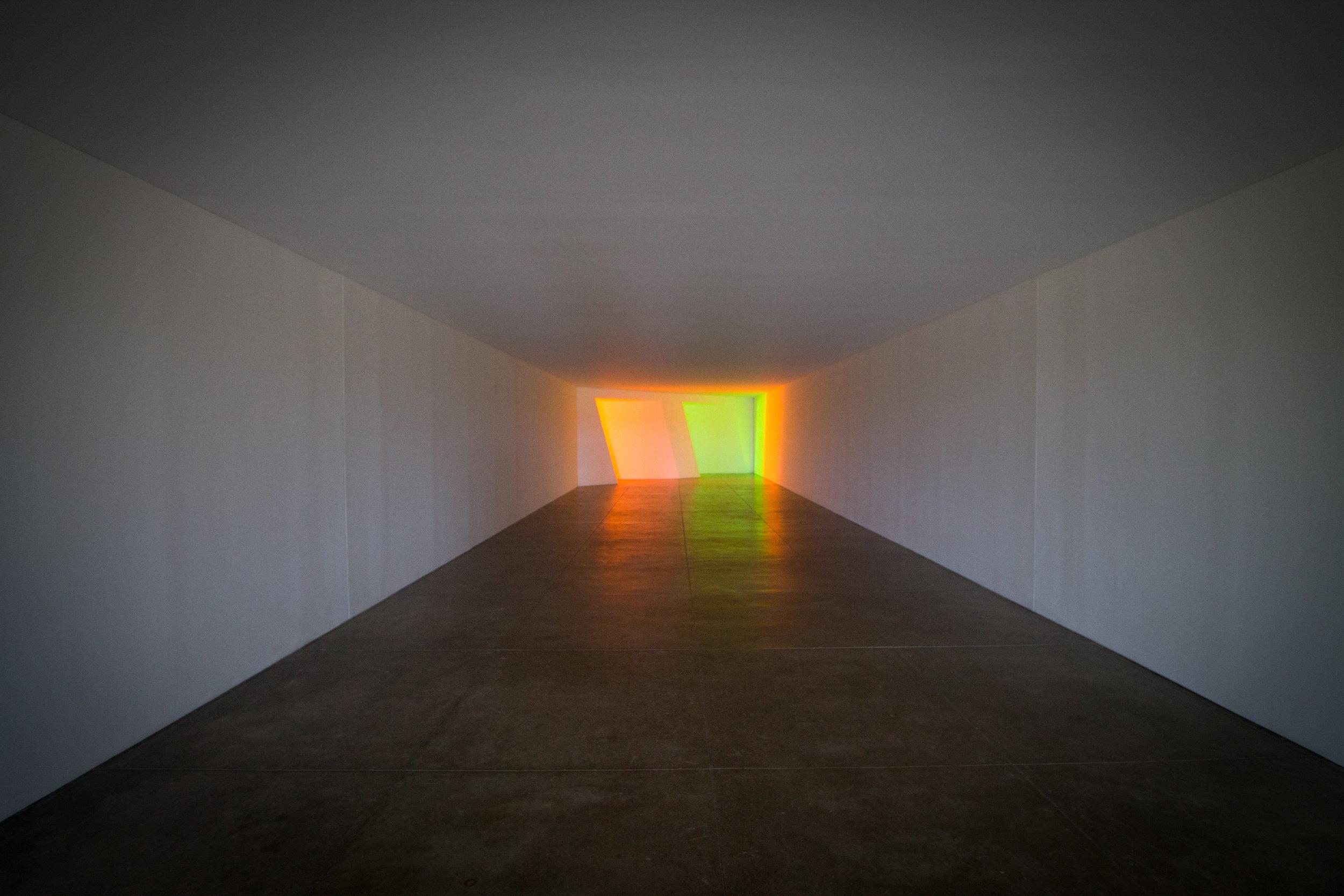 Dan Flavin, Minimalist Light & Perspective Works, 1996.