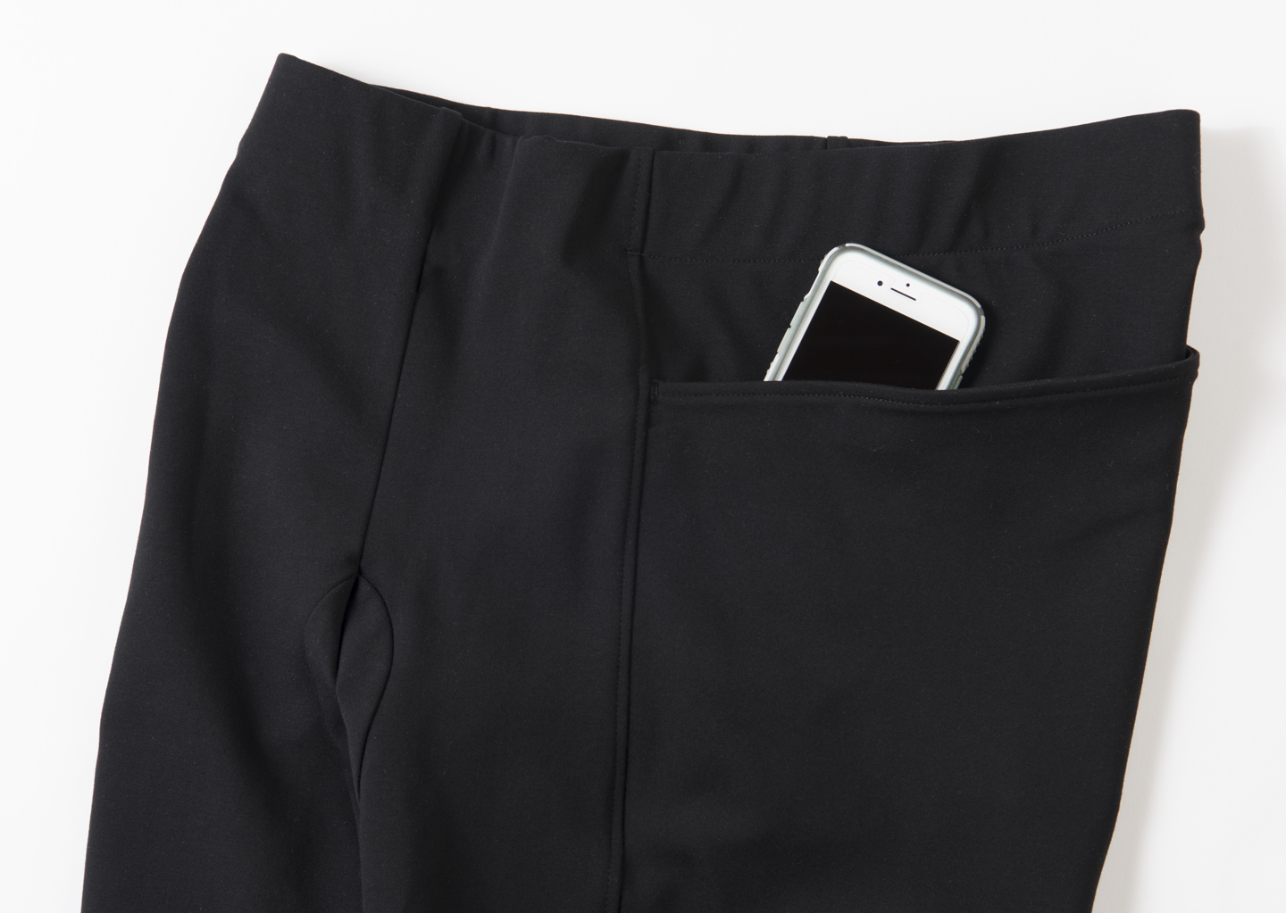 I keep hearing from women that they want pants with pockets - real pockets - and I've delivered. Porus Pant has two wide and deep pockets, and because they sit at the hips the things inside don't jostle around.