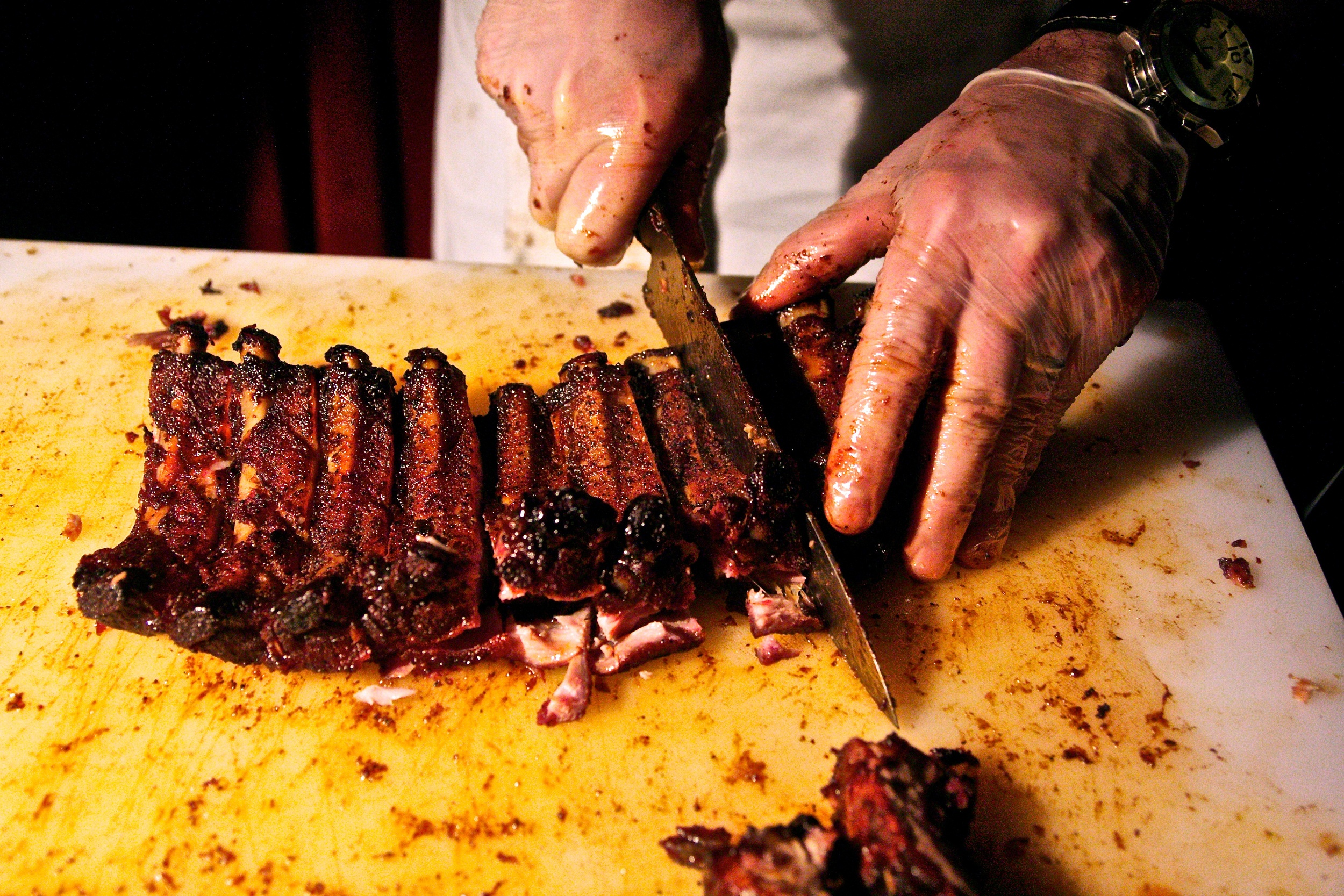 Baby Back Ribs from Stanley's Famous Pit Bar-B-Que, Tyler TX