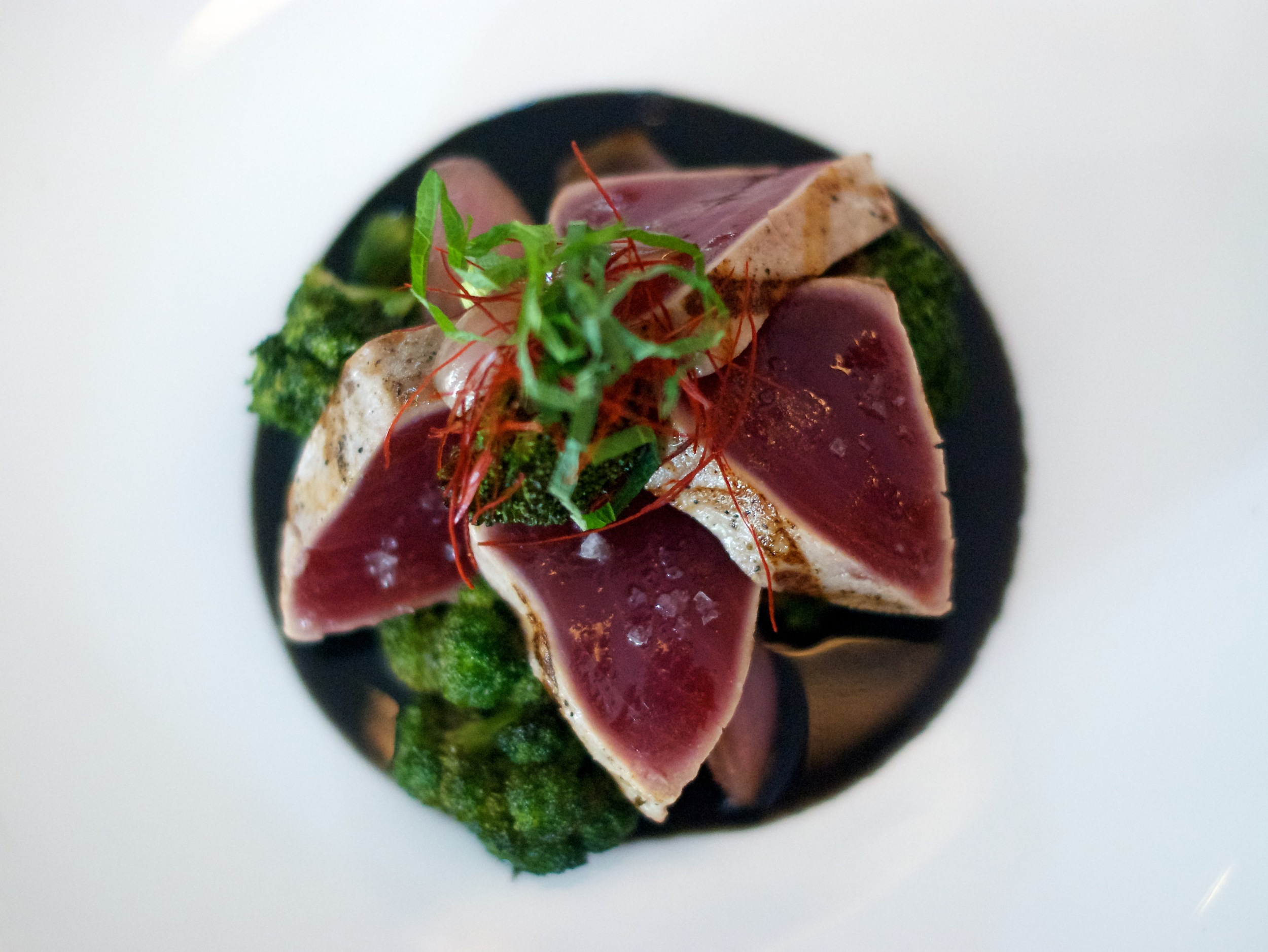 Tuna Tataki at Shalom Japan, Williamsburg, Brooklyn