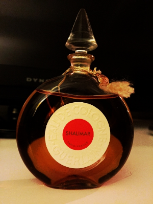 A vintage perfume from Katherine's personal collection