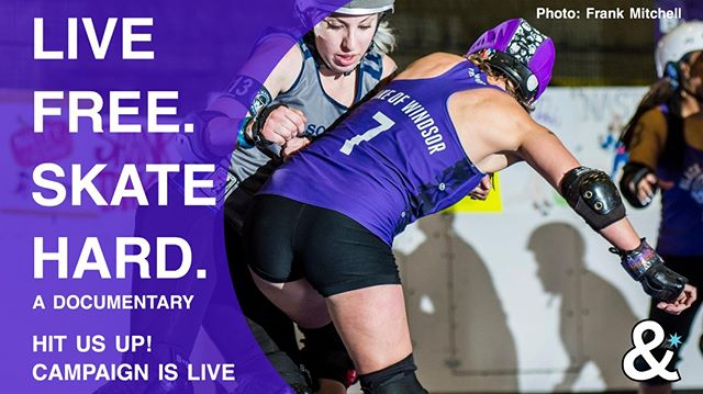 What do Free State and a film crew have in common? We're both ready to roll! 📽  And we need YOU to be a part of it! Check out the campaign here & find out what amazing perks you get for contributing via the link in our bio. @seedandspark @matchingsweatersproductions #rollerderby #livefreeskatehard #10yearsofFSRD #rollerderbygirls #rollerderbylife #wftda #realstrongathleticrevolutionary #rockville #maryland #marylandderby #mocomd #montgomerycountymd #dmv #rollerskate #rollerskating #womeninfilm #womeninsports #film #crowdfunding #boutbetties #supportindiefilm