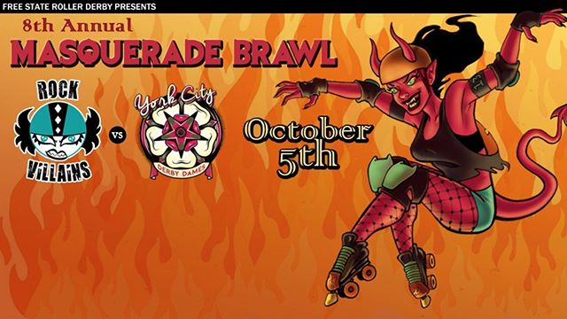 It's Masquerade Brawl time!!!! Sign up to join this monster mash and bout with us! 👻🎃💀 Link in bio