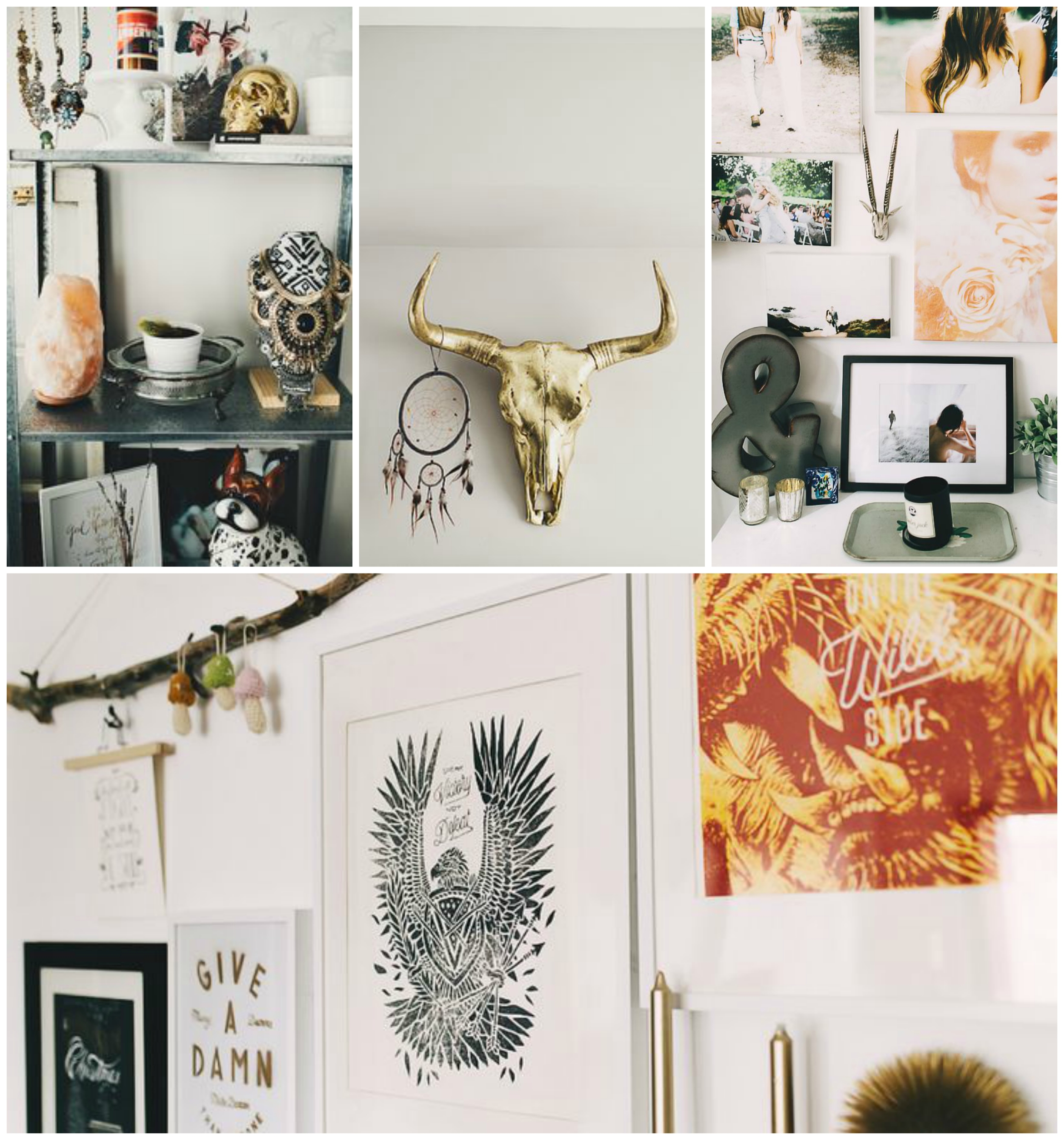 a little glimpse into my apartment & inspiration. bottom art is all by joshua noom.