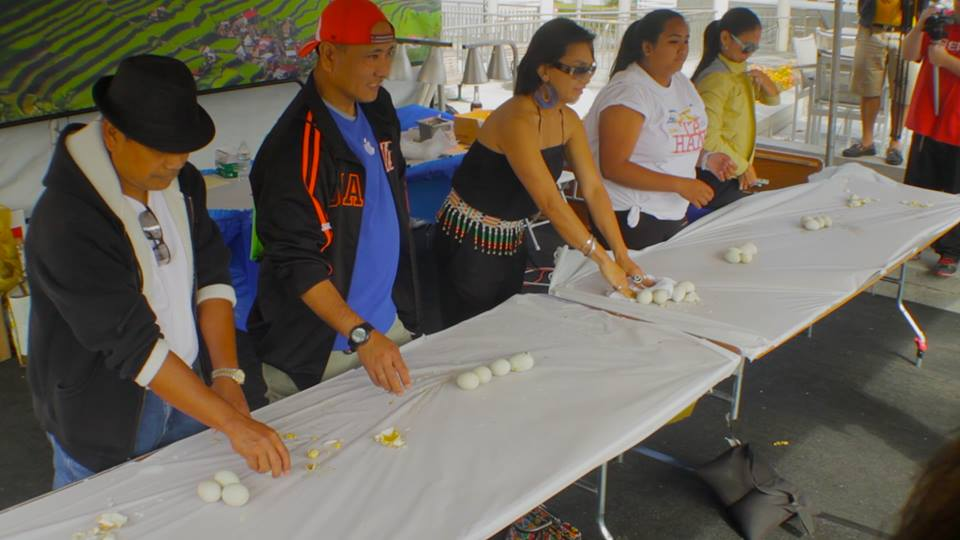 Balut-eating Contest at the Culinary Pavilion