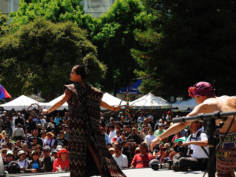Pistahan Festival performance at Yerba Buena Gardens in San Francisco (Photo: FAAE)