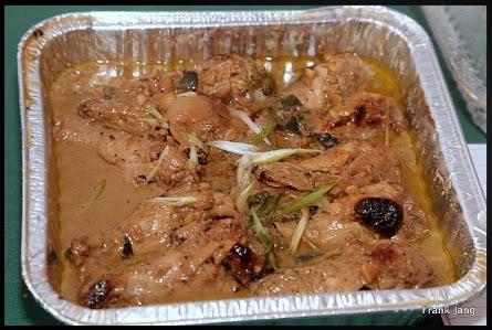 Chicken Adobo with lemongrass