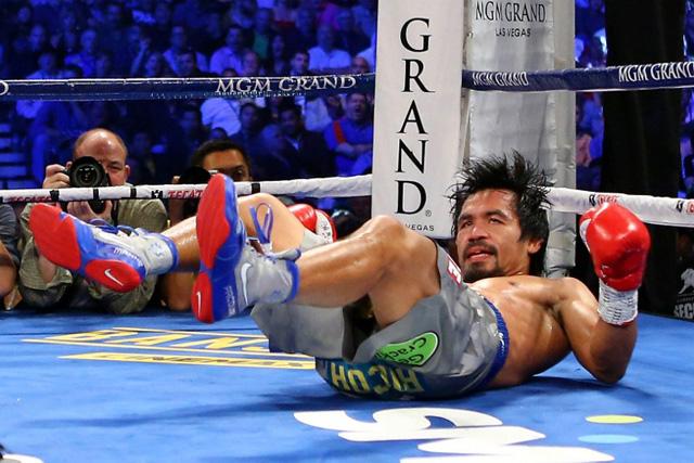 Defeated Manny (no! blasphemy!)