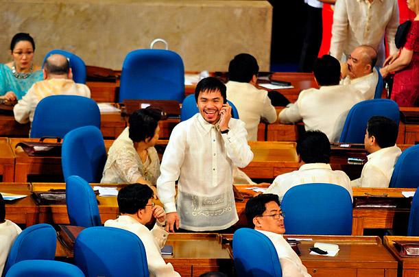 Politician Manny