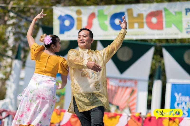 Mabuhay Folkloric Society at last year's Pistahan. Photo by Three Cheers Photography.