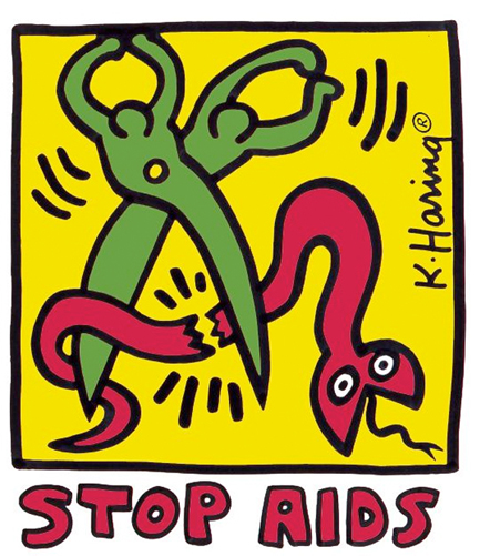 Art and Entertainment industries kept AIDS in front of everyone's minds in the early days