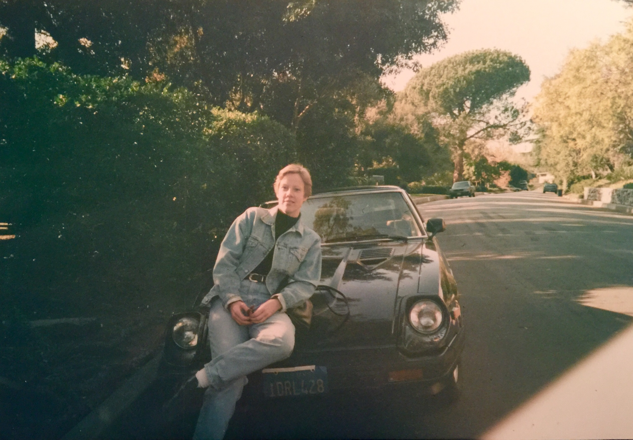 Photo: California in the late 80s.