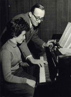 Friedrich Gulda and Martha Argerich