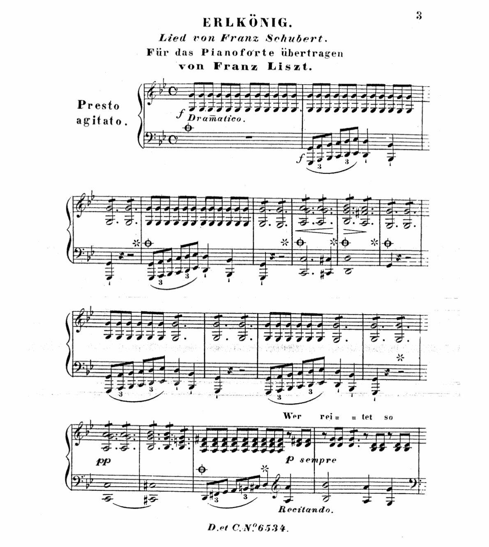Franz Liszt - Erlkönig
