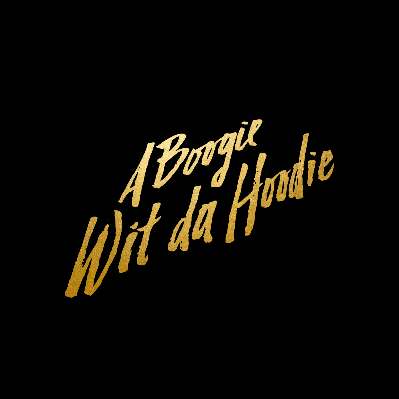 A Boogie wit da hoodie    hand drawn   logo