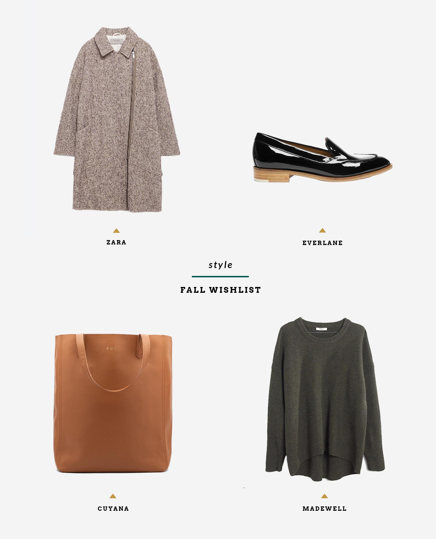 Style: Fall Wishlist | InBetween the Curls