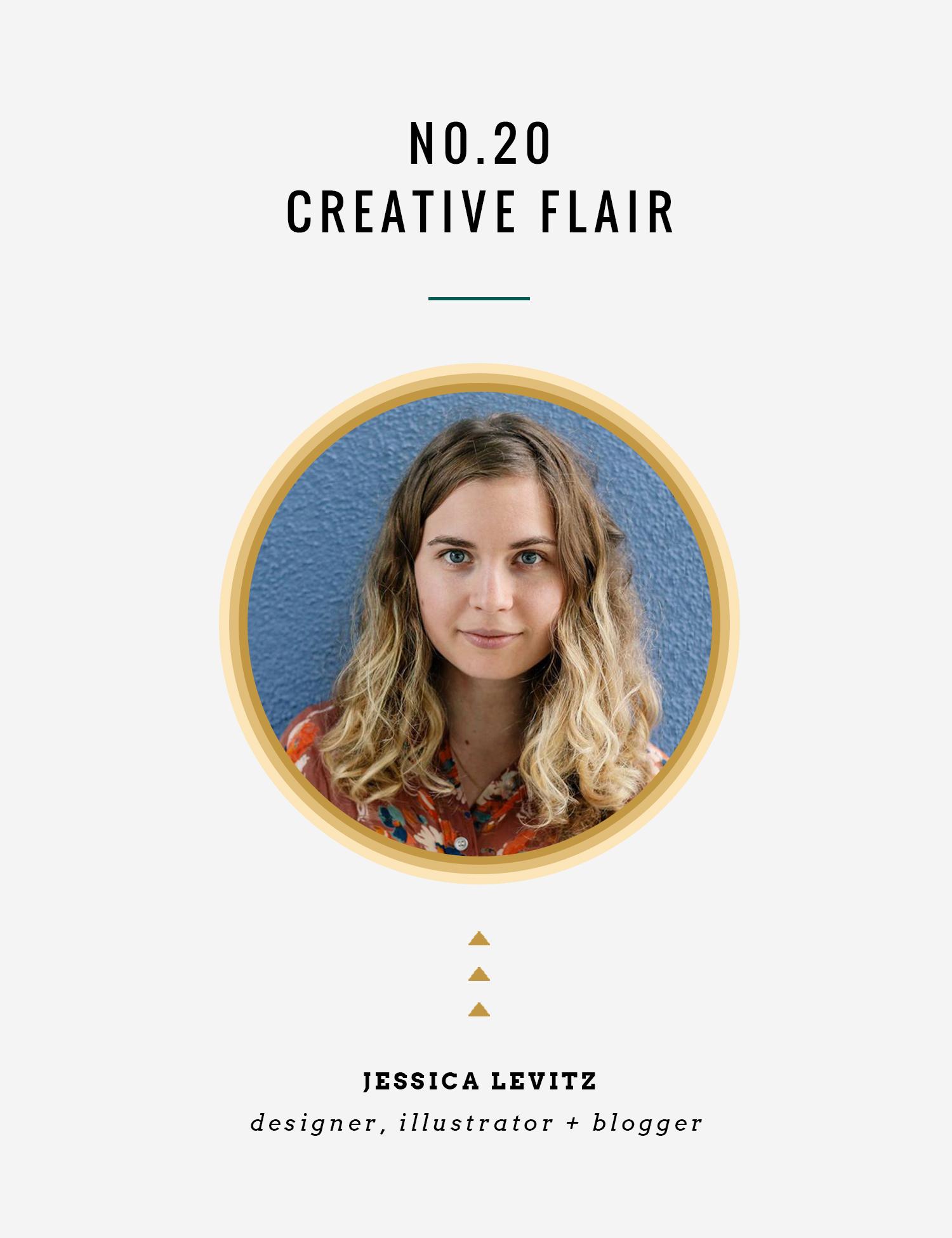 Creative Flair : Jessica Levitz | InBetween the Curls